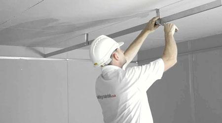 Le tarif de pose d'un plafond suspendu