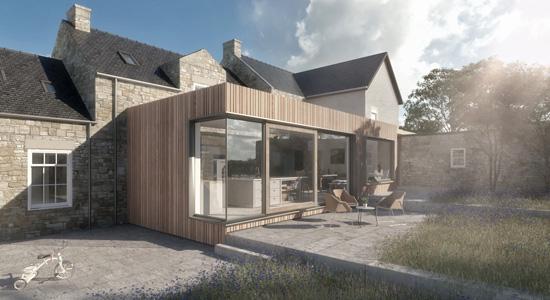 Le toit plat : Un élément à la mode