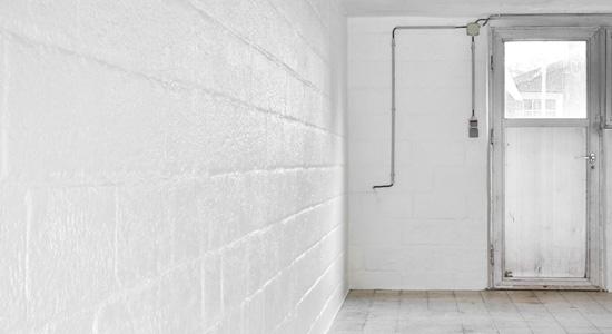 Traiter l'humidité d'un sous-sol