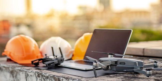 Utilisation des drones dans BTP